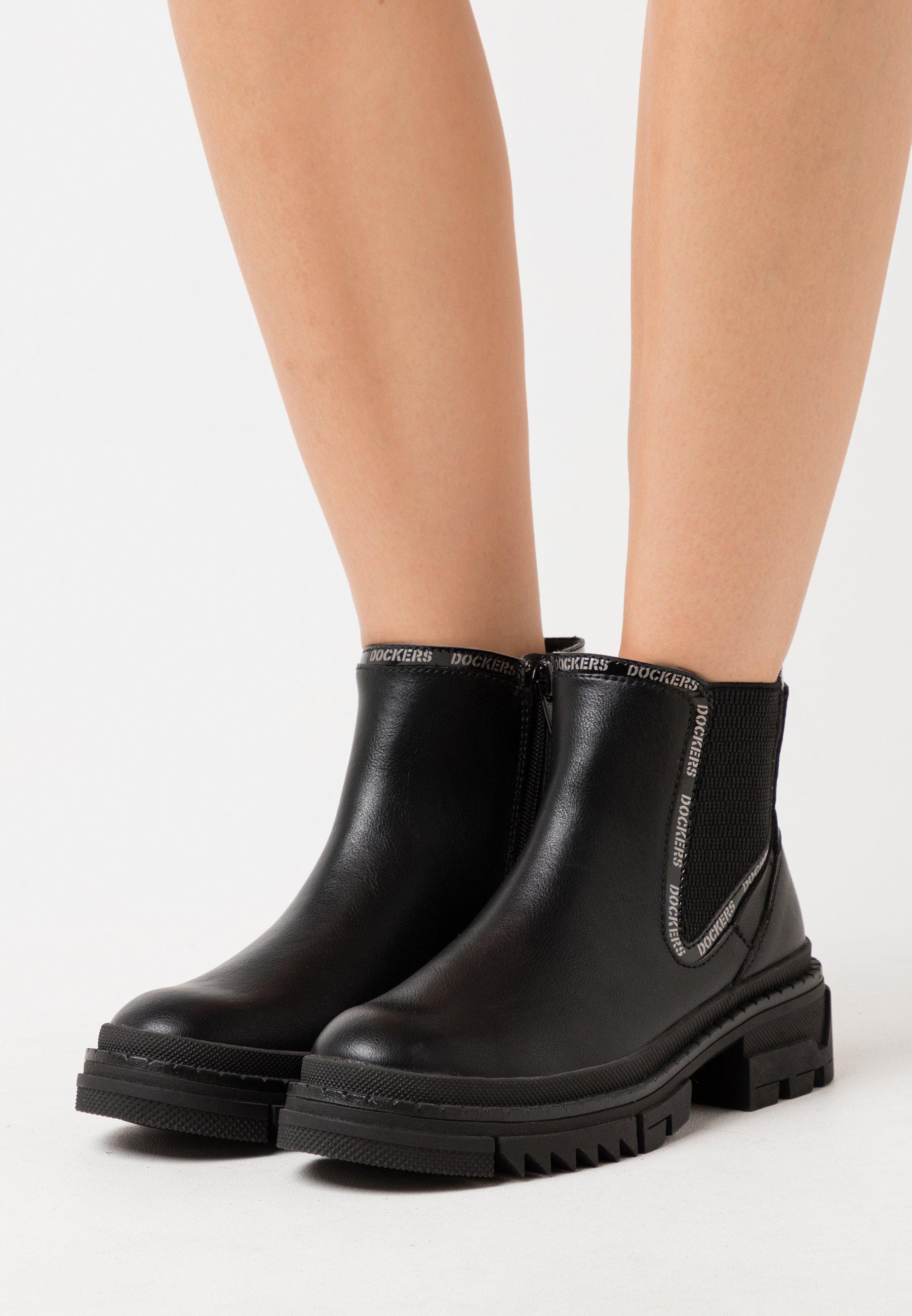 Korte laarzen schwarz