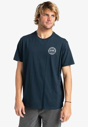 ROTOR ARCH  - T-shirt con stampa - navy