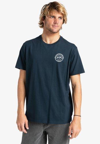 ROTOR ARCH  - Print T-shirt - navy