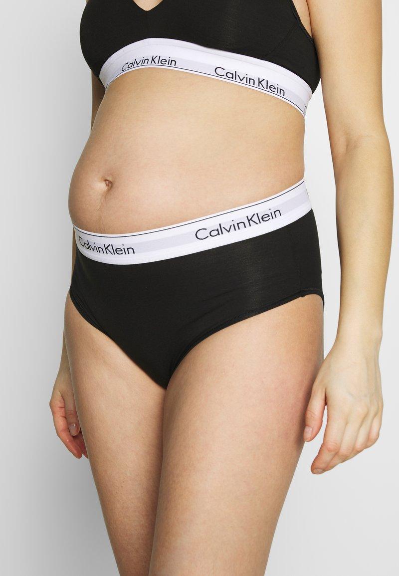 Calvin Klein Underwear - MODERN MATERNITY - Braguitas - black