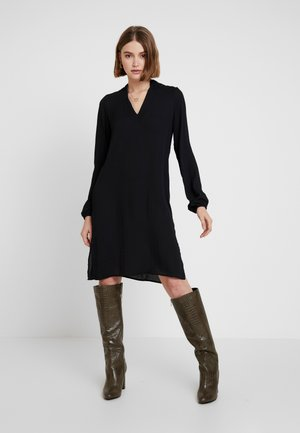 VMZIGGA V NECK TUNIC - Tunic - black