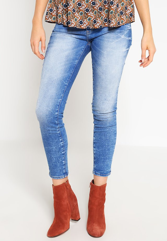 ADRINA ANKLE - Jeans Skinny Fit - true blue barcelona