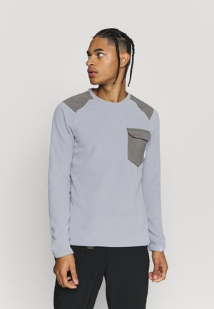 INNOMINATA LIGHT CREW NECK MEN - Fleecepullover - granit