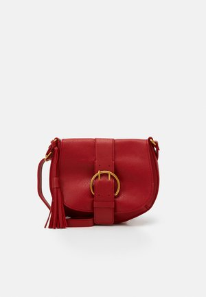 BRITTNEY - Across body bag - red