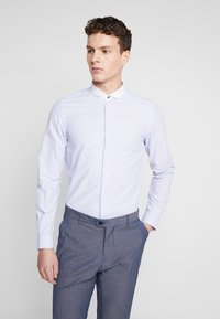 Shelby & Sons - PORTLAND SHIRT - Camicia elegante - white & blue - 0