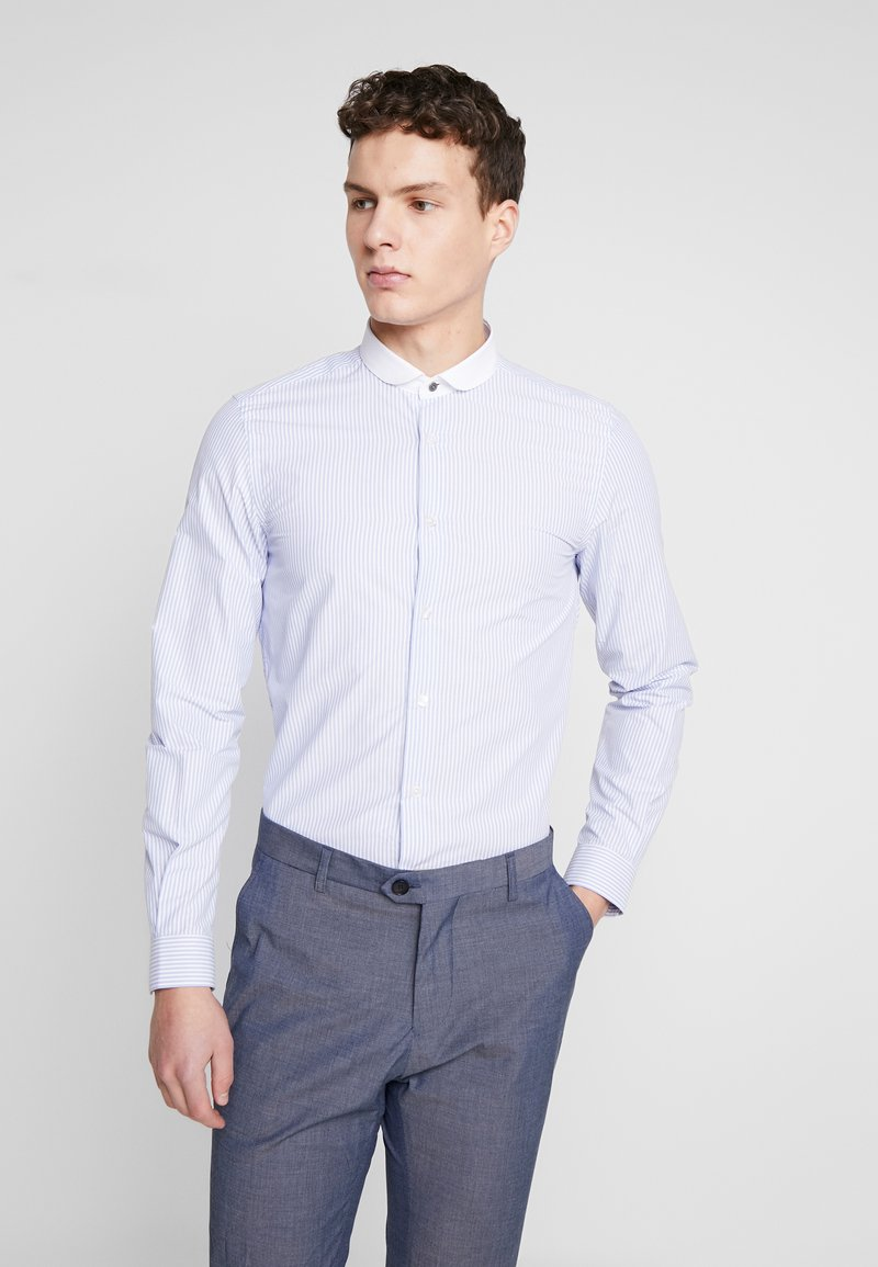 Shelby & Sons - PORTLAND SHIRT - Zakelijk overhemd - white & blue