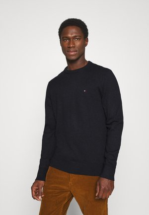 PIMA CREW NECK - Neule - black