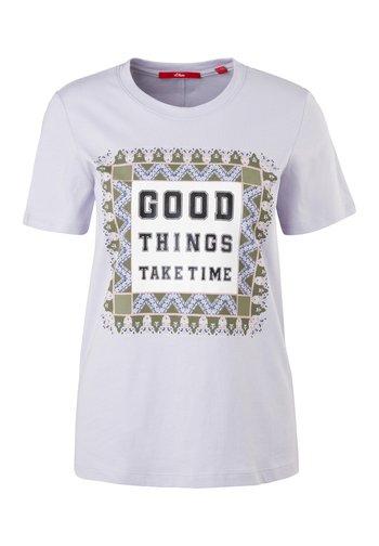 MIT FOTOPRINT COLLAGE - Print T-shirt - lilac good things print