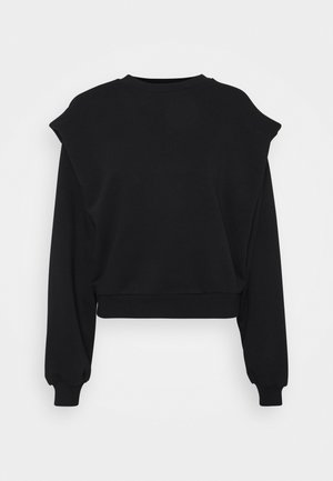 SHOULDER DETAIL  - Sweatshirt - black