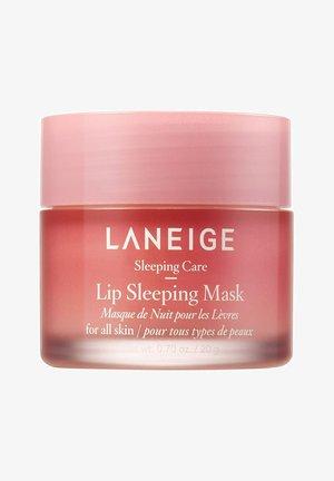 LIP SLEEPING MASK - Lip scrub - berry