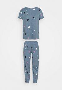 Marks & Spencer London - HEART  - Pyjamas - blue mix - 5