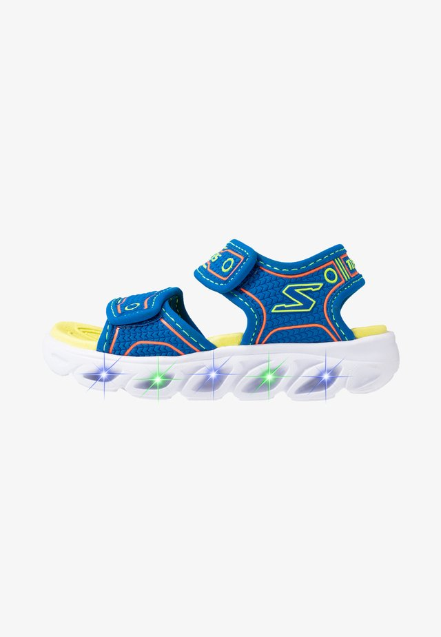 HYPNO-SPLASH - Walking sandals - blue/lime/orange
