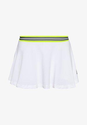 TRISTA SKIRT - Sportkjol - brilliant white