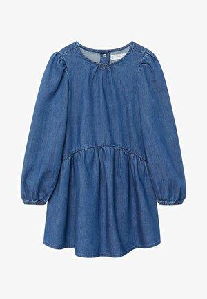 CAMILLE - Denimové šaty - middenblauw