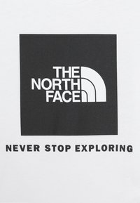 The North Face - BOX TEE UNISEX - Print T-shirt - white/black