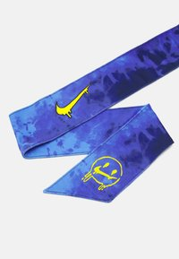 Nike Performance - ERA EXPL HEAD TIE - Ear warmers - blue void/speed yellow - 2