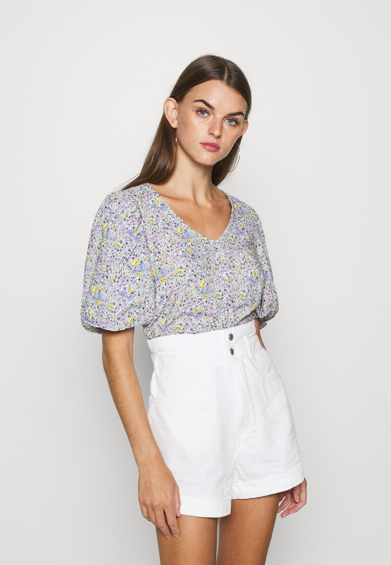Levi's® - HOLLY BLOUSE GARDEN DITZY - Bluser - monrovia lavender / frost