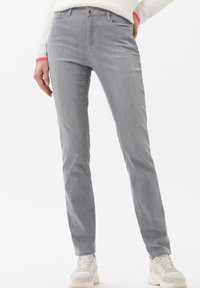 BRAX - STYLE MARY - Jeans Slim Fit - used light grey - 0
