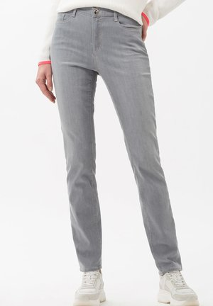 STYLE MARY - Slim fit jeans - used light grey