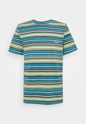 SHORT SLEEVE - Print T-shirt - mare blu
