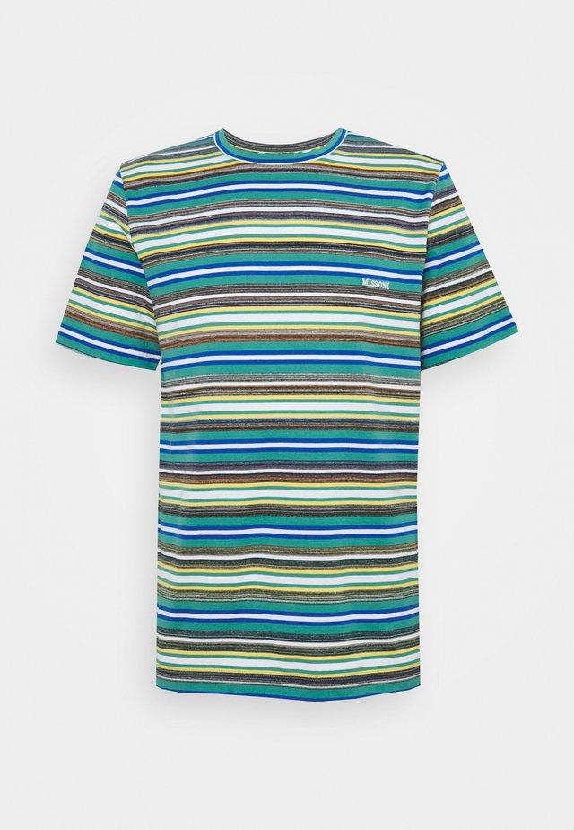 SHORT SLEEVE - T-shirt z nadrukiem - mare blu