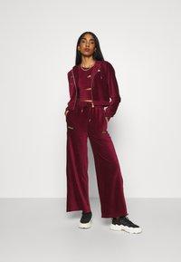 Ellesse - JUSTIA - Zip-up hoodie - burgundy - 1