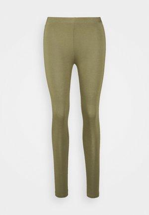 ESSENTIAL - Leggings - Trousers - burnt olive