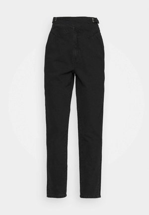 DANNIGZ - Straight leg jeans - dark black wash