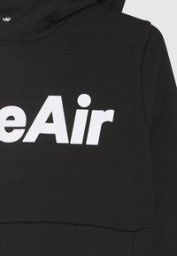 Nike Sportswear - AIR HOODIE UNISEX - Hoodie - black/white - 2