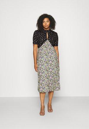 MIXED MIDI DRESS - Day dress - mixed  floral