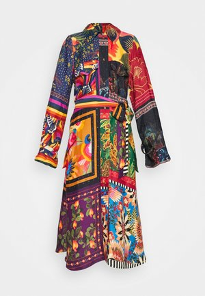 MIX SCARVES CHEMISEDRESS - Maksimekko - multi