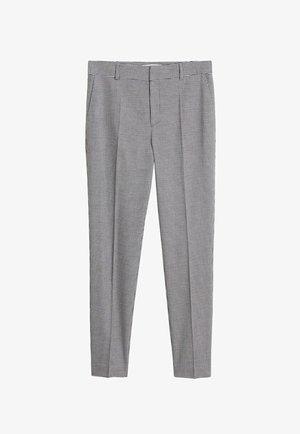 BORECUAD - Spodnie materiałowe - schwarz