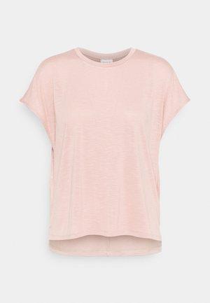 VINOEL CAP SLEEVE - Basic T-shirt - misty rose