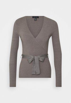 WRAP - Jersey de punto - mid grey