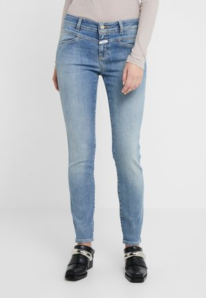 STACEY X - Slim fit jeans - mid blue