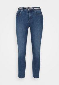 HUGO - CHARLIE CROPPED - Jeans Skinny Fit - bright blue - 4