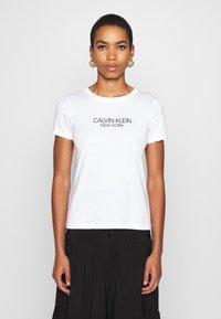 Calvin Klein - 2 PACK - Triko spotiskem - black/white - 1