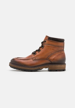 OPITZ - Lace-up ankle boots - whisky/dunkelbraun
