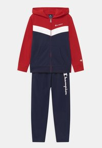 Champion - FULL ZIP SUIT SET UNISEX - Chándal - dark blue - 0
