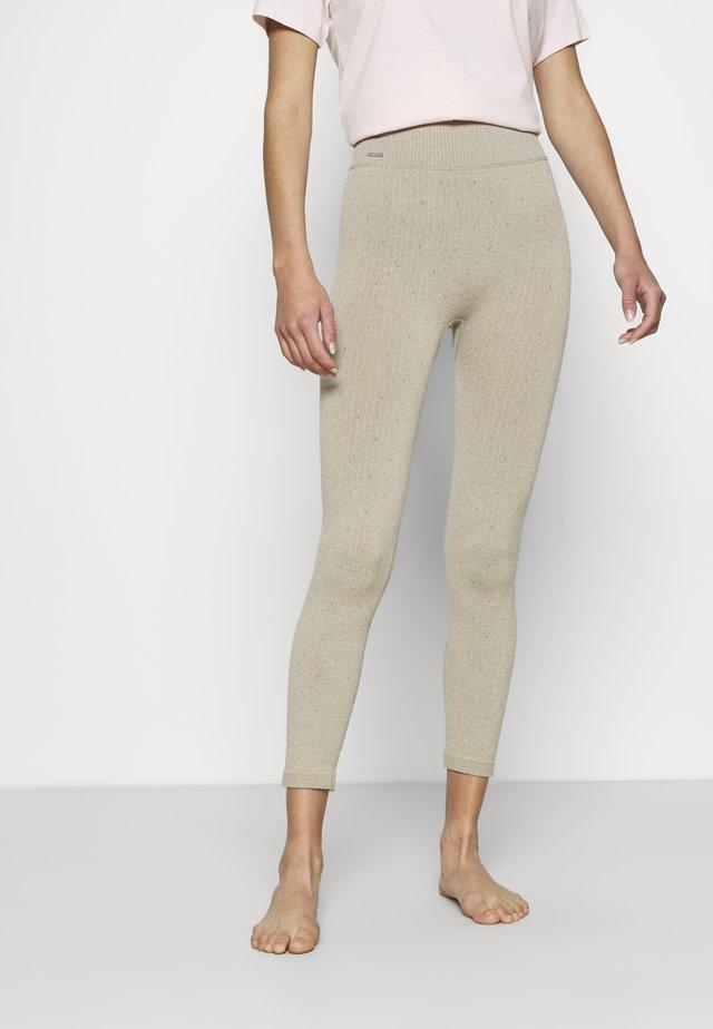 LOUNGE PANTS - Pantaloni del pigiama - sand