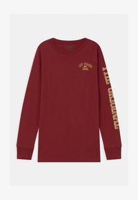 Levi's® - GRAPHIC RINGER UNISEX - Long sleeved top - bordeaux - 0