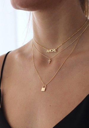 TINY CROSS - Necklace - oro