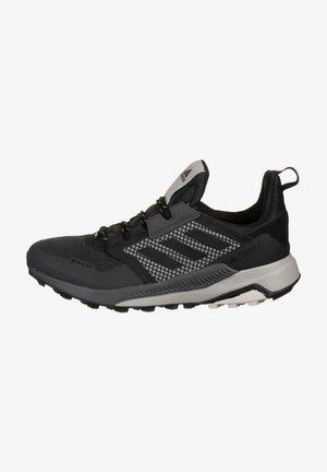 Trail running shoes - core black / aluminium