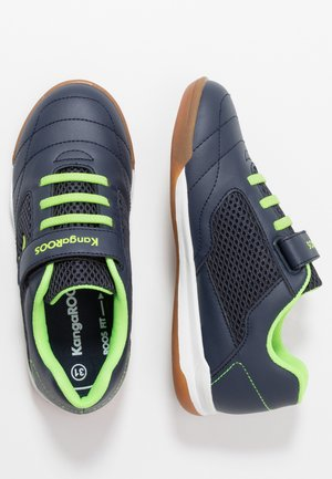 RACE YARD - Trainers - dark navy/lime