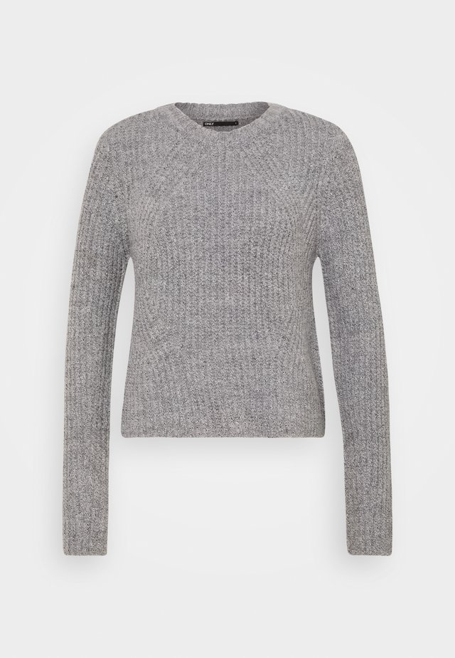 ONLFIONA PULLOVER TALL  - Maglione - medium grey melange