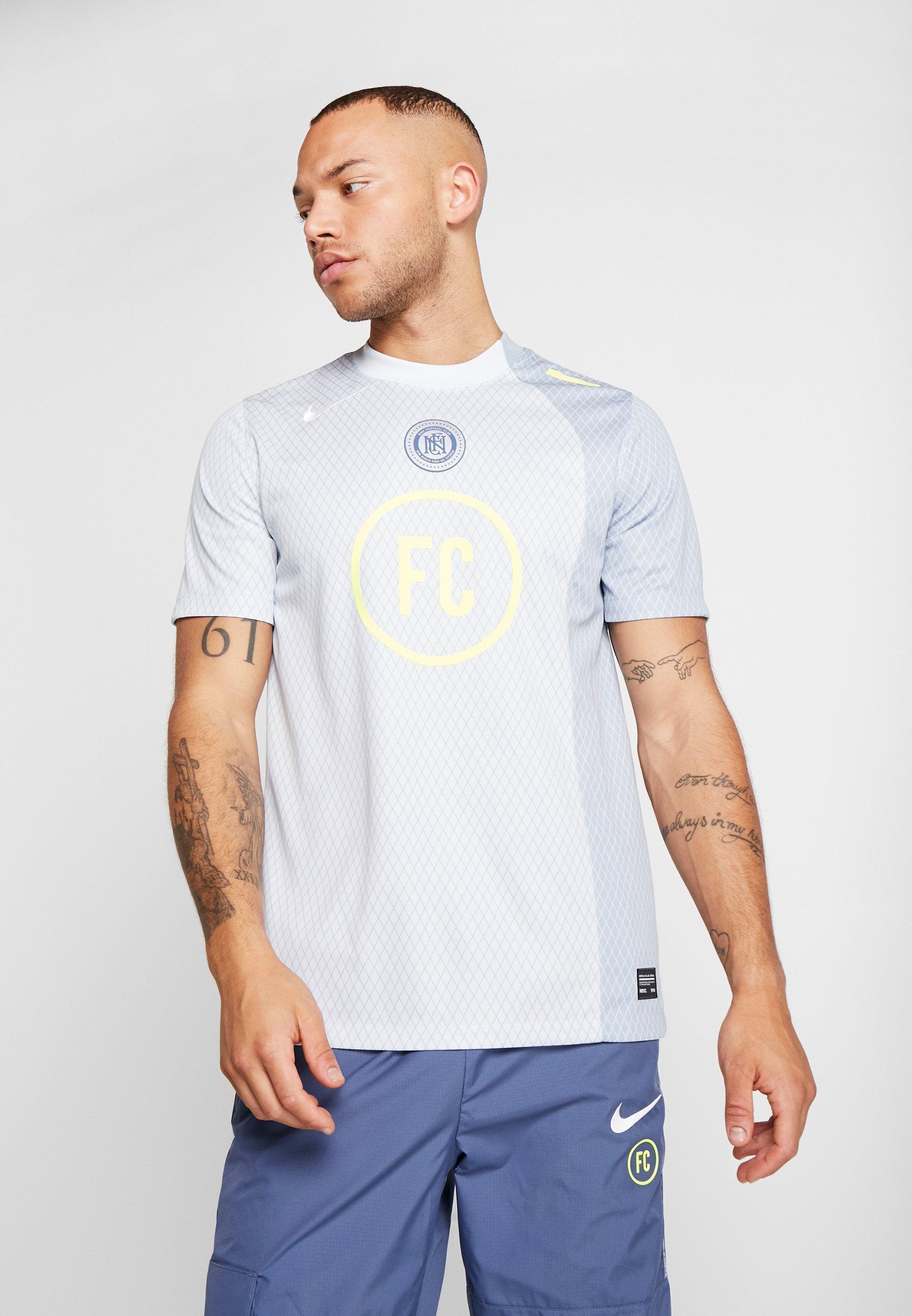 Acquista Abbigliamento da uomo Nike Performance FC AWAY T-shirt con stampa obsidian mist/pure platinum/white