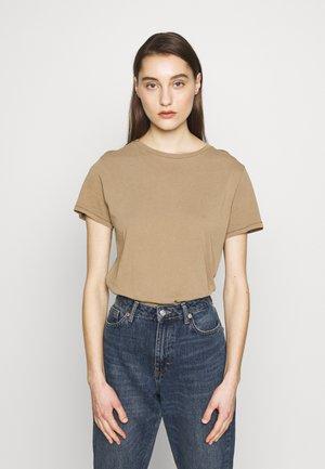 VEGIFLOWER - Camiseta básica - camel