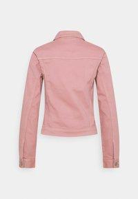 TOM TAILOR DENIM - RIDERS JACKET - Denim jacket - cozy rose - 1