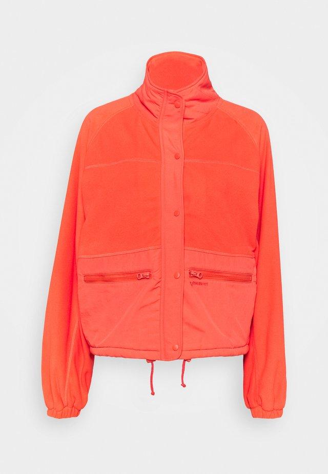 MARAU WOMEN  - Fleecová bunda - sienna