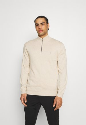 LONG SLEEVE - Stickad tröja - almond heather